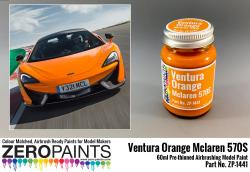 Mclaren 570S Ventura Orange Paint 60ml