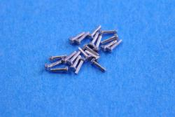 Hexagon Rivets 0.5mm x 2.4mm  x20