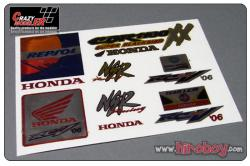 Honda (A) Full Colour Metal Transfers