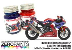 Honda CBR1000RR-R Fireblade SP Grand Prix Red/Blue Paints - 2x30ml