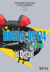 Honda RC174/RC166 in Detail Book - Limited Edition