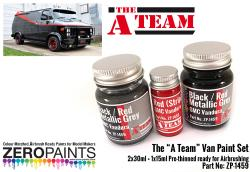 The A Team Paint Set 2x30ml, 1x15ml