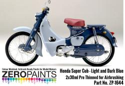 Honda Super Cub Paint Set 2x30ml
