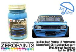 Ice Blue Pearl Paint for LB Performance (Liberty Walk) GC111 Skyline (Ken Mary) 60ml