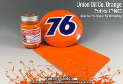 Union Oil 76 Orange Paint 60ml