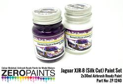 Jaguar XJR-8 (Silk Cut) Paint Set 2x30ml