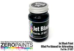 Jet Black (Solid) Paint 60ml