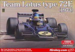 1:20 John Player Team Lotus 72E 1973 by Ebbro