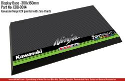 Kawasaki Ninja H2R / Zero Paints Display Base for Model Kits 300x160mm