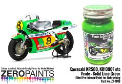 Kawasaki KR500, KR1000F Lime Green KAW3B Paint 60ml