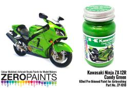 Kawasaki Ninja ZX-12R Candy Green KAW33 Paint 60ml