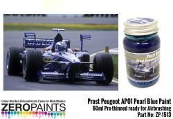 Prost Peugeot AP01 Pearl Blue Paint 60ml