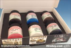 LifeColor Tensocrom Set 2 (22ml x 6) Oil, Smoke, Kerosene, Fuel etc