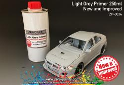 Light Grey Primer 250ml Airbrush Ready - New and Improved
