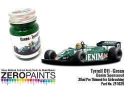 Tyrrell 011 Green Paint Denim Sponsored 30ml