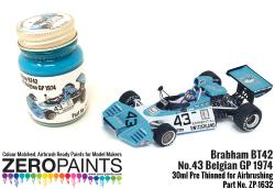 Brabham BT42 Blue Turquoise  Paint 30ml