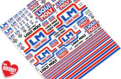 Liqui Moly Sponsor Decals (Various Scales)