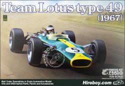 1:20 Lotus 49 1967 by Ebbro