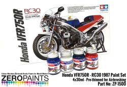 Honda VFR750R - RC30 1987 Paint Set 4x30ml