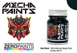 Matt Black	 30ml - Mecha Paint