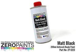 Matt Black Paint (Similar to TS6) 250ml