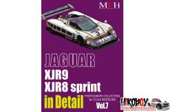 Jaguar XJR9/XJR8 Sprint in Photo Detail Book (Vol.7)
