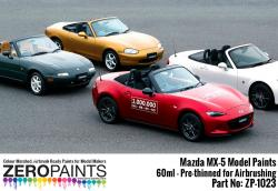 Mazda MX-5 (Eunos) NA, NB, NC, ND Paints 60ml