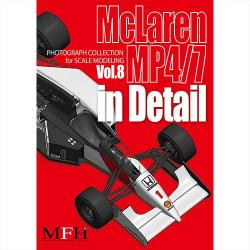 Mclaren MP4/7 in Detail Book - Limited Edition