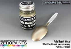 Pale Burnt Metal Paint - 30ml - Zero Metal Finishes