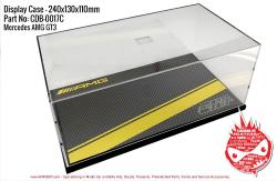 Mercedes-AMG GT3 Display Case for Model Kits 240x130x110mm