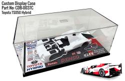 Toyota TS050 Hybrid Gazoo Racing Display Case for Model Kits 240x130x110mm