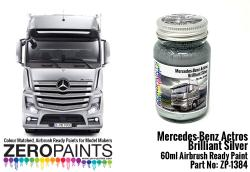 Mercedes-Benz Actros Brilliant Silver Paint 60ml