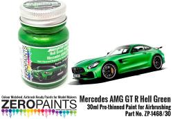 Mercedes AMG GT R Hell Green (Matt) Paint 30ml