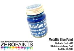 Metallic Blue Paint 30ml - Similar to Tamiya X-13