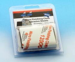 Micro Finishing Cloth Abrasive Sheets Starter Kit- 9 sheet