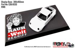 RWB Rauh-Welt Begriff - Display Base for Model Kits 300x160mm