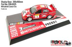 Mitsubishi Impreza WRC Freddy Loix - Display Base for Model Kits 300x160mm