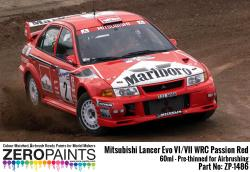 Mitsubishi Lancer Evo VI / VIII WRC Passion Red Paint 60ml