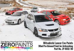 Mitsubishi Lancer Evo Paints 30ml