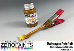 Motorcycle Fork Gold Paint 15ml