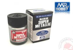 Mr.Color Super Metallic Paints - Super Stainless Steel SM04