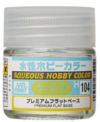 Mr Hobby Aqueous Premium Clear Flat Base  (10ml) H104