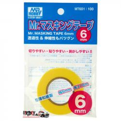 Mr Masking Tape 6mm (MT601)