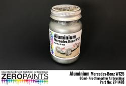 Aluminium Mercedes-Benz W125 Paint 60ml