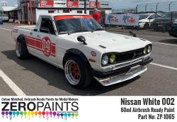 Nissan White Paint 60ml (Hakosuka - Hakotora) Ltd Edition