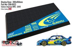 Subaru Impreza WRC 2005 Petter Solberg - Display Base for Model Kits 300x160mm