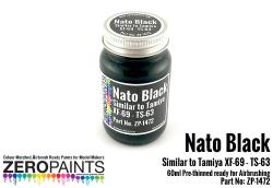 Nato Black Similar to Tamiya XF-69 - TS-63 Paint 60ml