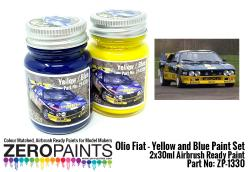 Olio Fiat - Yellow and Blue Paint Set 2x30ml
