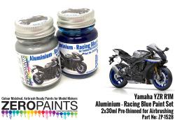 Yamaha YZR R1M - Aluminium and Racing Blue Paint Set 2x30ml