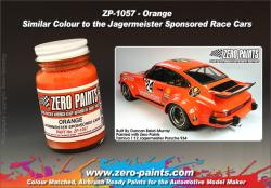 Orange Paint  Similar Colour to the Jagermeister Sponsored Race Cars 60ml